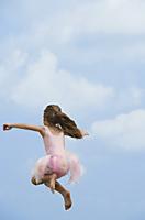 girl in mid-air - Alex Mares-Manton