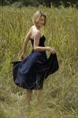 young woman in field - Alex Mares-Manton