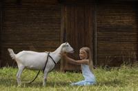 girl with goat - Alex Mares-Manton