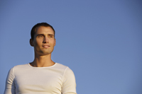 Portrait of young man - Alex Mares-Manton