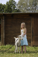 girl with goat - Alex Mares-Manton