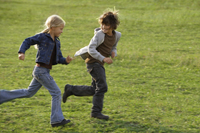 boy and girl running - Alex Mares-Manton